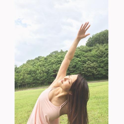 パークヨガ@庄内緑地公園
