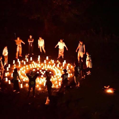 【5/5開催】☆音灯瑜伽主催☆屋上CandleArtYogaとインドカレーの夕べ