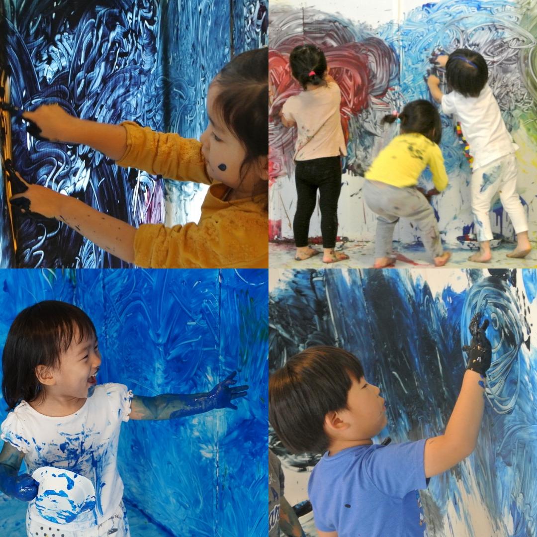 [3歳-小学生]全身でペイント!FREELY☆Space(宇宙) 11月
