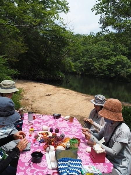 山のニットカフェ&ピクニック[MOTOKOTOクラブ]
