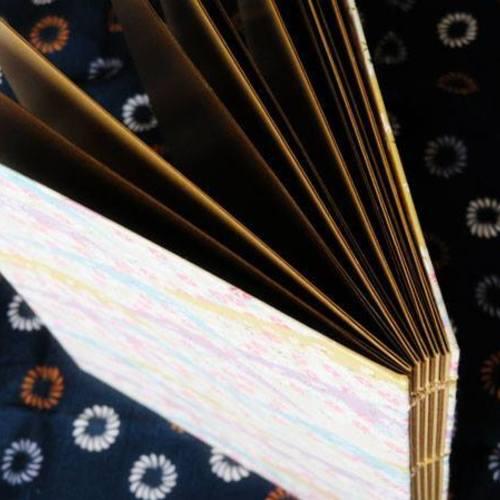 ⑫小さな本工房「糸で綴じる製本」(2k540)