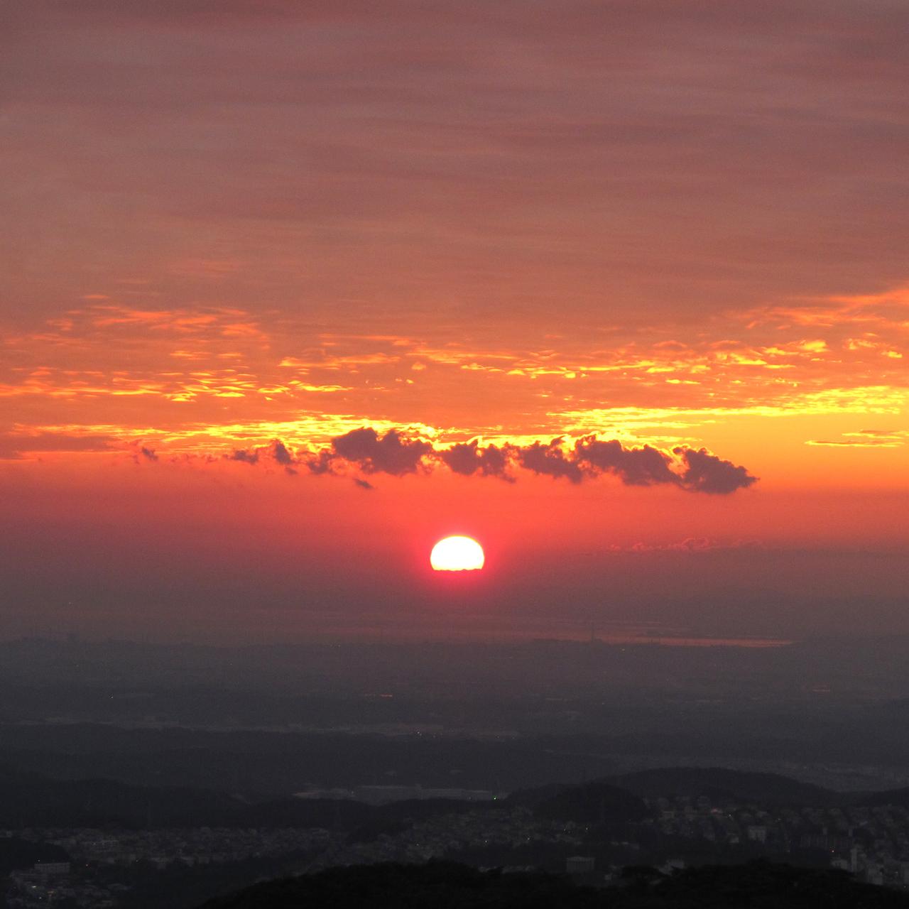 山撮り写真教室「納涼トワイライト - 夕空を撮ろう 2 - 」