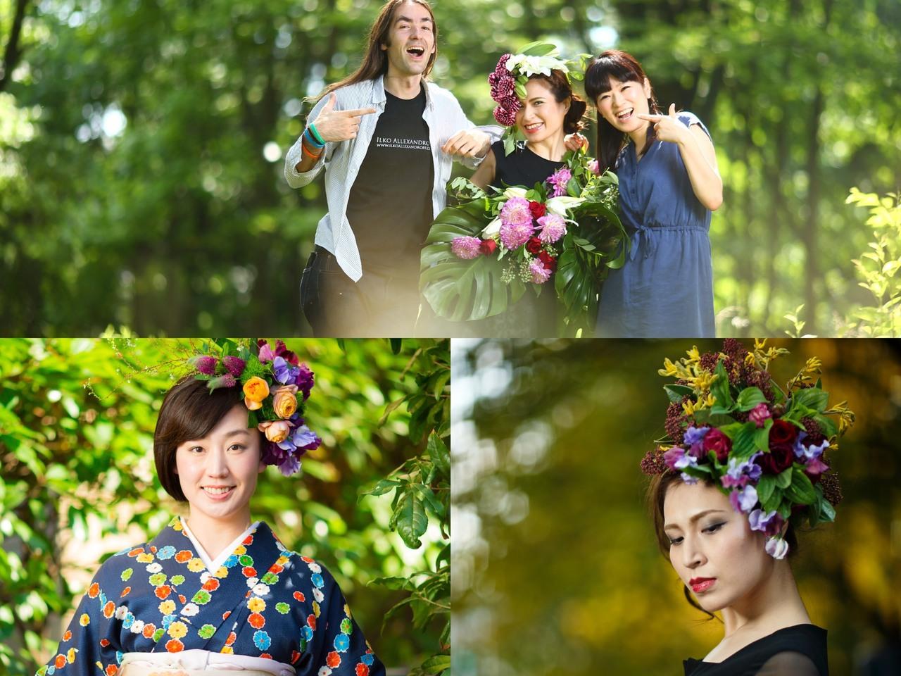【4月1日開催】光の魔術師イルコ写真セミナー×ルナフルージュ花衣