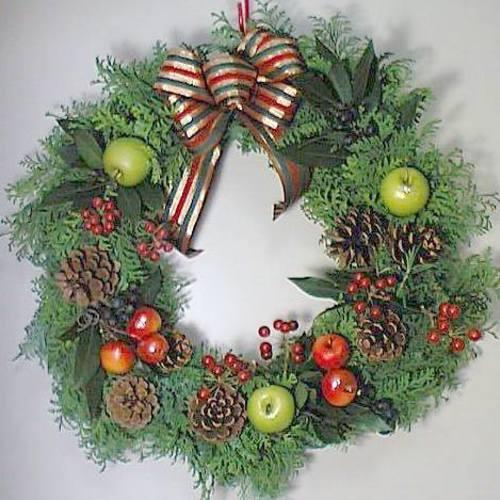 クリスマスリース・クリスマススワッグを作ろう!!