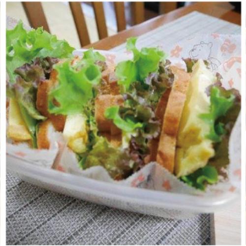 木のキッチンでパン教室  4・5・6月 テーマはサンドイッチ!!