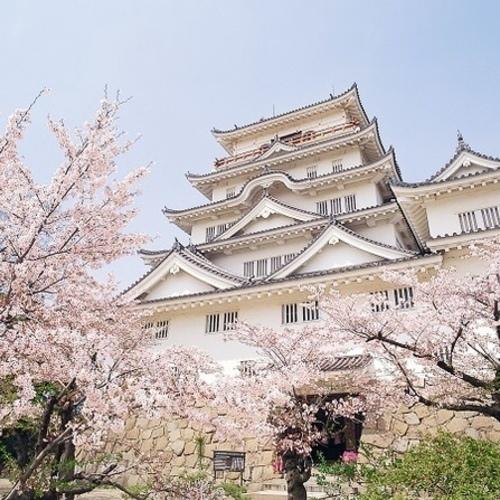 福山城de花見ヨガ