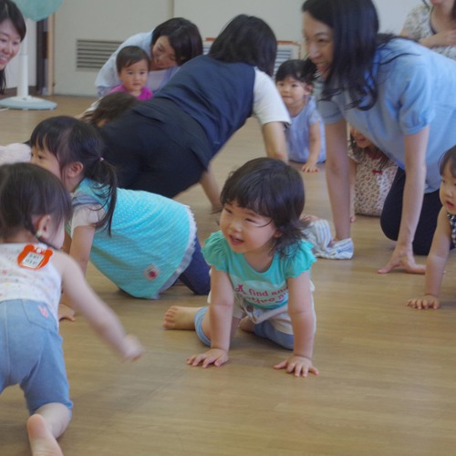 【末長Aコース】さっちーと一緒にのびのび親子体操