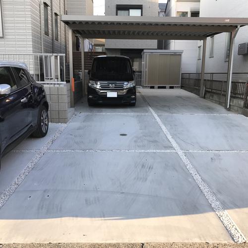 【ガレージ前左側/みなと祭り・名港水上芸術花火限定】駐車場