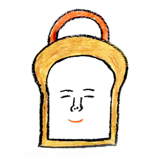 4/18(土)柴田ケイコ『ぱぱんがパン!』出版記念 パンのフェルトバッグ作り at 本とコーヒーtegamisha