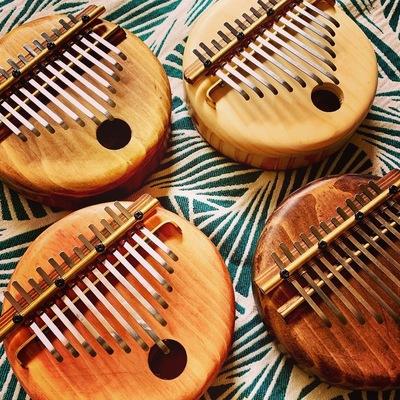 【福岡】満席・キャンセル待ち/丸いカリンバを作ろう♪心地よい音とリズムを楽しもう♪カリンバの森