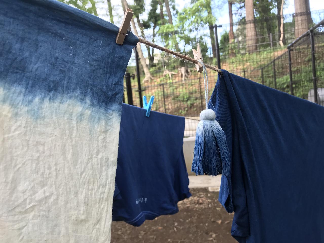 夏休み!子どもも大人も歓迎! 藍染体験教室 善福寺Cocoon Parents Square開催