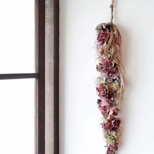 『flowerobje greenspot 秋色アジサイのガーランド作り』 at 菜花 9/22(日)