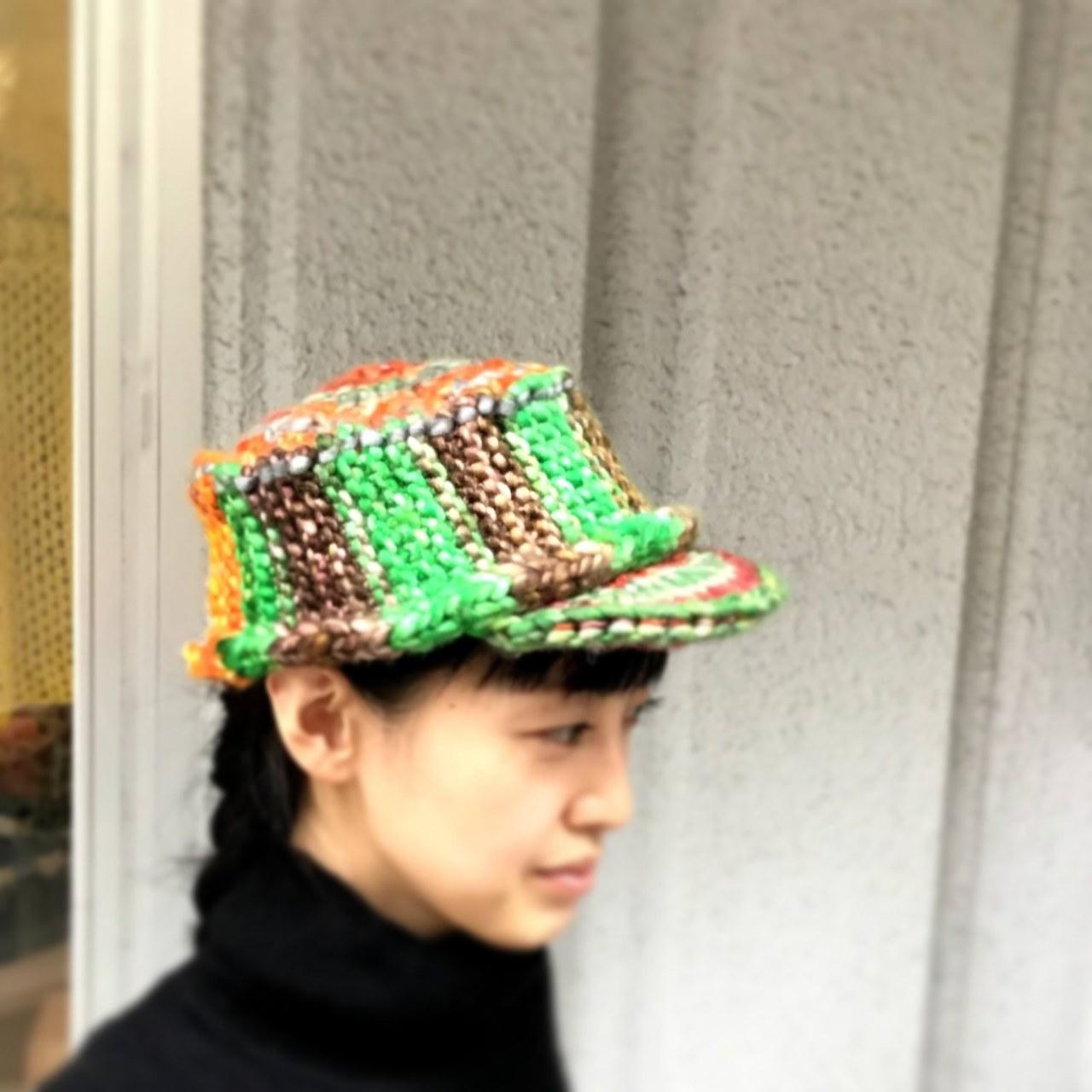 Keito「ユニークチャンキーのキャップ」