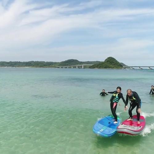 SUP・サーフィン体験・1名24000円~参加者が多い方がお得!4名で1人10000円に!・ドローン撮影プレゼント