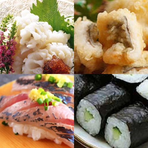 寿司職人が教える寿司握りとハモ料理
