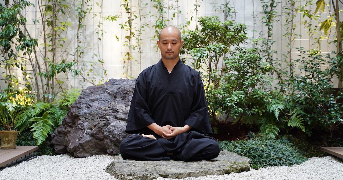 両足院副住職 NATURE MEDITATION【瞑想体験】