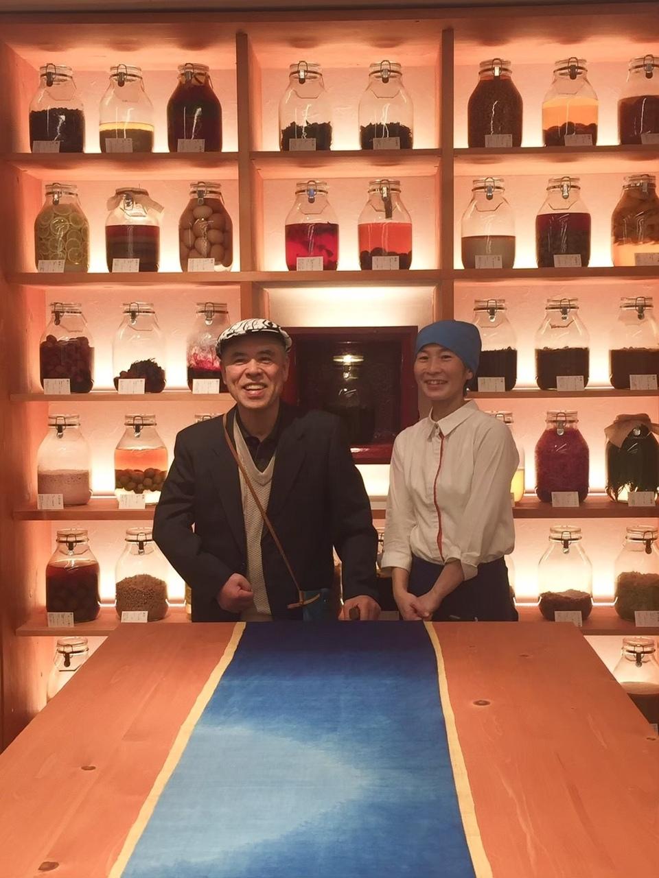 【会場参加】(発酵トークセッション)縄文由来の発酵素材 『漆』を繋ぐ、『漆』の進化 福井錦壽の山岸親子を迎えて
