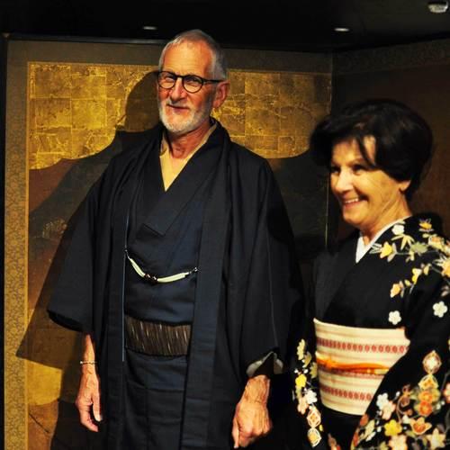 Formal deluxe kimono Photo-shooting