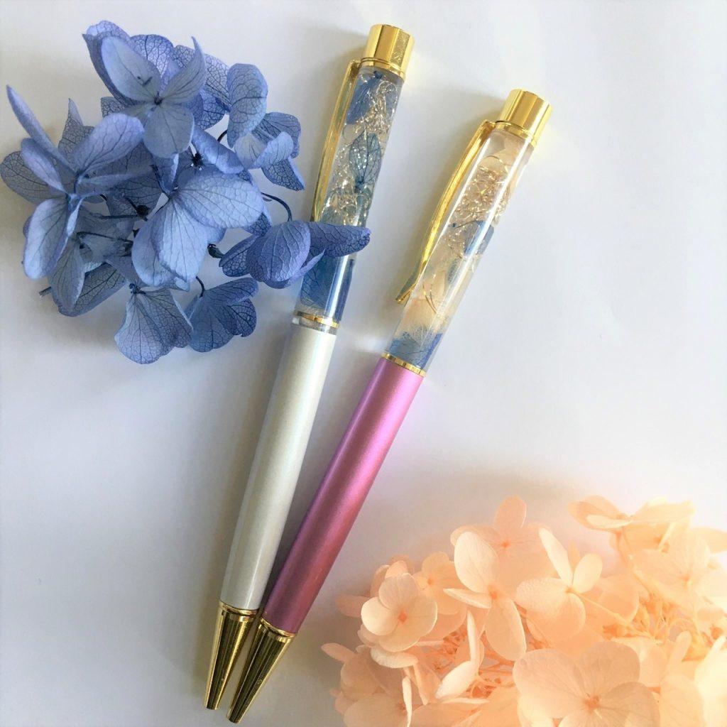 【杉並】梅雨の風物詩を満喫する♪『 紫陽花フェア 』~アジサイのハーバリウムボールペン作り~|2019年6月1日(土)