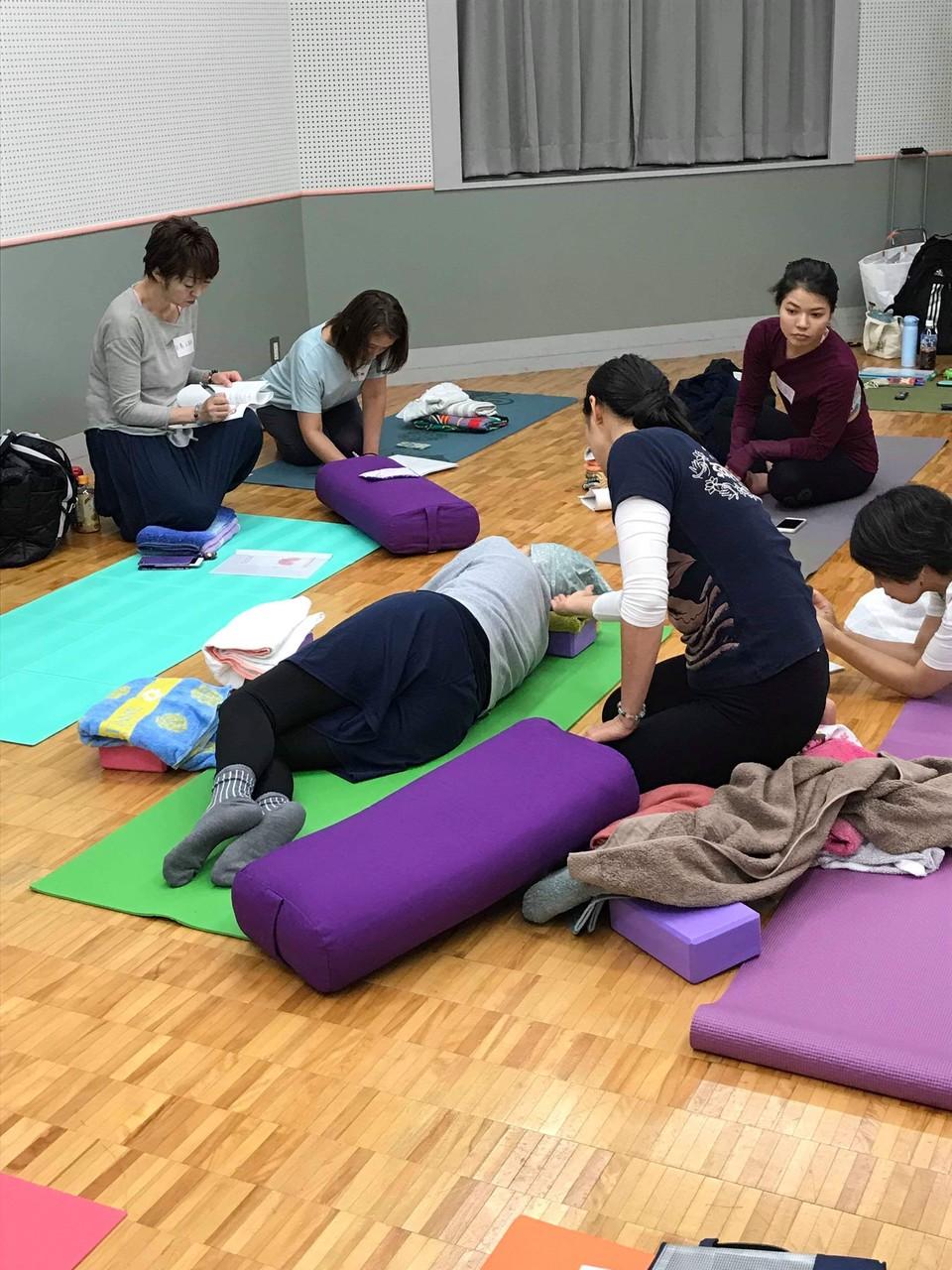 2019年 乳がんヨガ指導者養成講座《10/26》埼玉県(大宮)