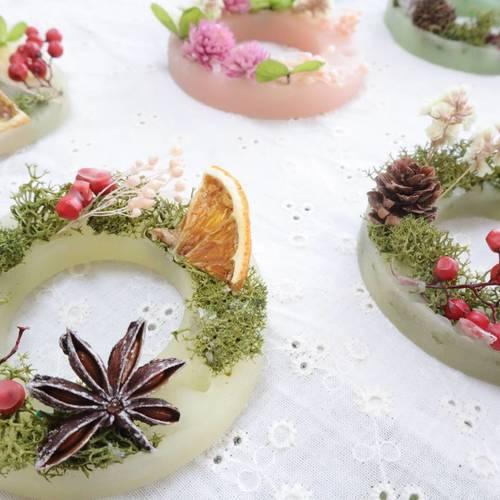 【つどいのひろば】ワークショップ☆アロマでクリスマス♪ボタニカルサシェ作り