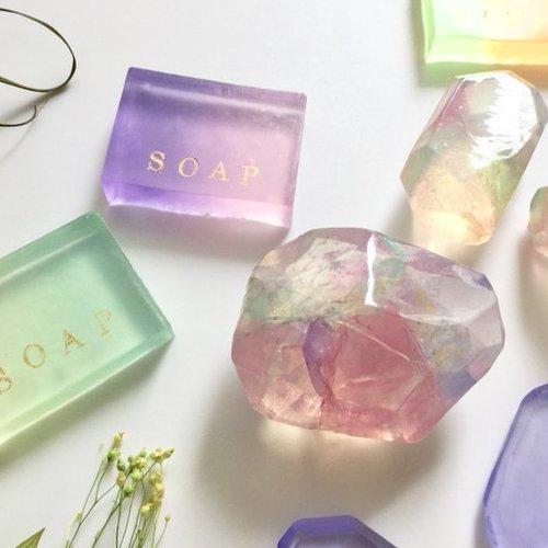 シンプルレシピが嬉しい!簡単楽しい! Bijoux soap ビジューソープ