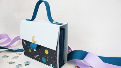 中止 ☆G.W.☆【パピエ*mini*】シールストックバッグを作ろう 5月開催分 *お子様可
