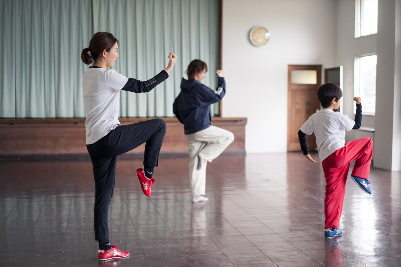 親子で楽しく、カンフーで運動しよう!