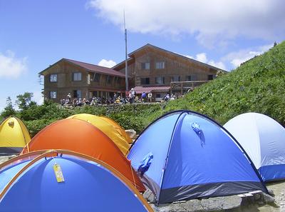 テント場のご予約