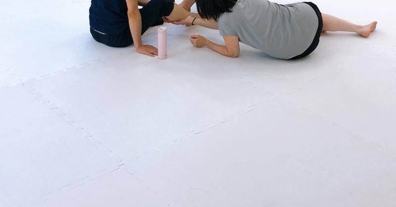 腰痛改善ストレッチ(担当:Atsuko)
