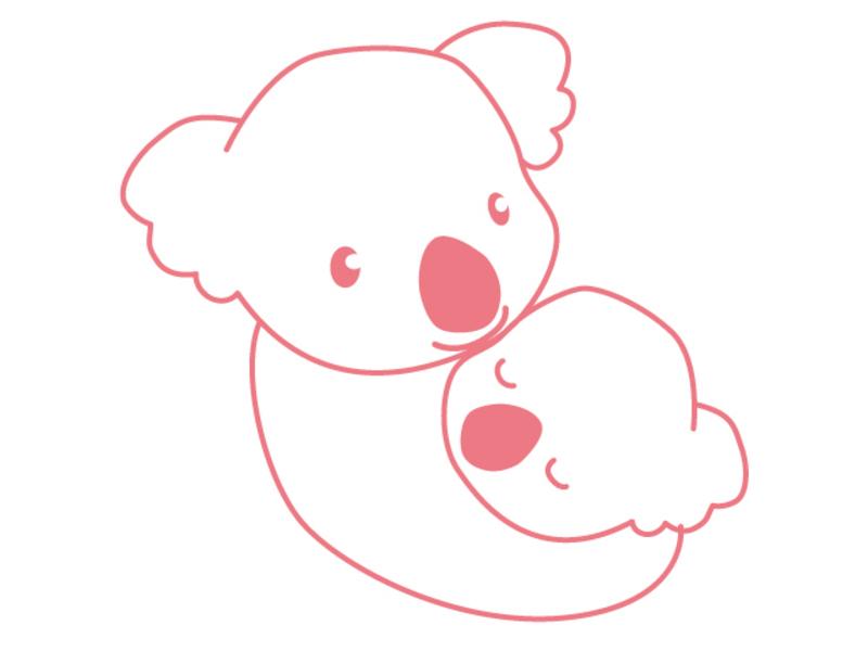 オンライン 7~12ヶ月児・子育てサロン・コアラ(ZOOM)