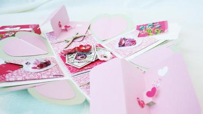 中止 【パピエリウムクラフト】Feel Special Box Card 4月8日(水)・18日(土)