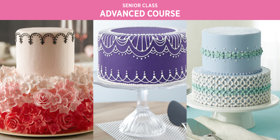 Wilton Method Advance Course / 12月6日(金・昼)スタート!