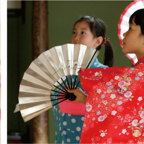 こども日舞  日本舞踊で体幹トレーニング