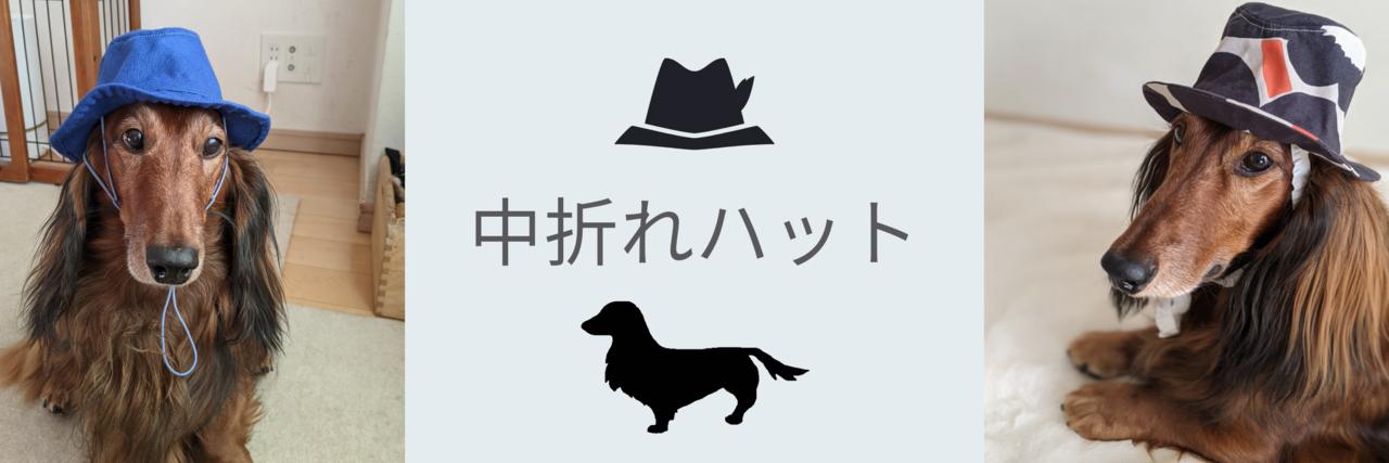 愛犬の中折れハット(2dayホビー講座)★動物愛護支援対象レッスン