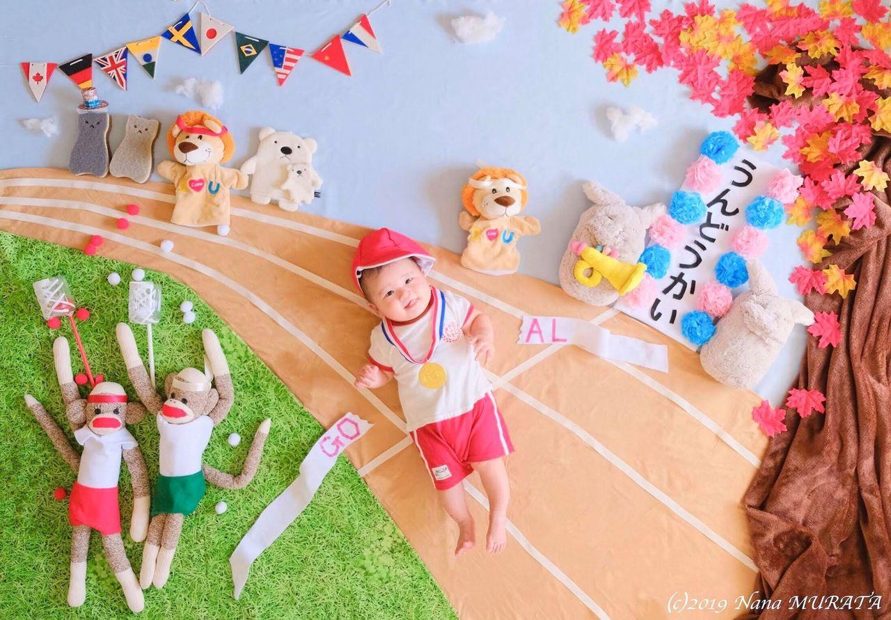 秋の運動会に挑戦!おひるねアート撮影会【練馬】2019年9月22日(日)