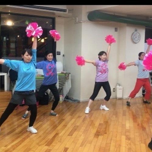 初めてのチアダンスNEW!! キャンサーチア基礎教室 @御茶ノ水 2019年10月6日(日)10:10〜11:00