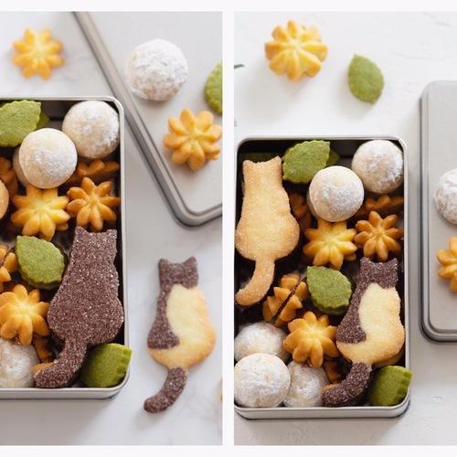【アトリエ】猫のクッキー缶レッスン