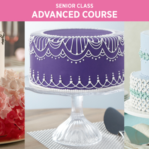 Wilton Method Advance Course / 10月3日(木・朝)スタート!