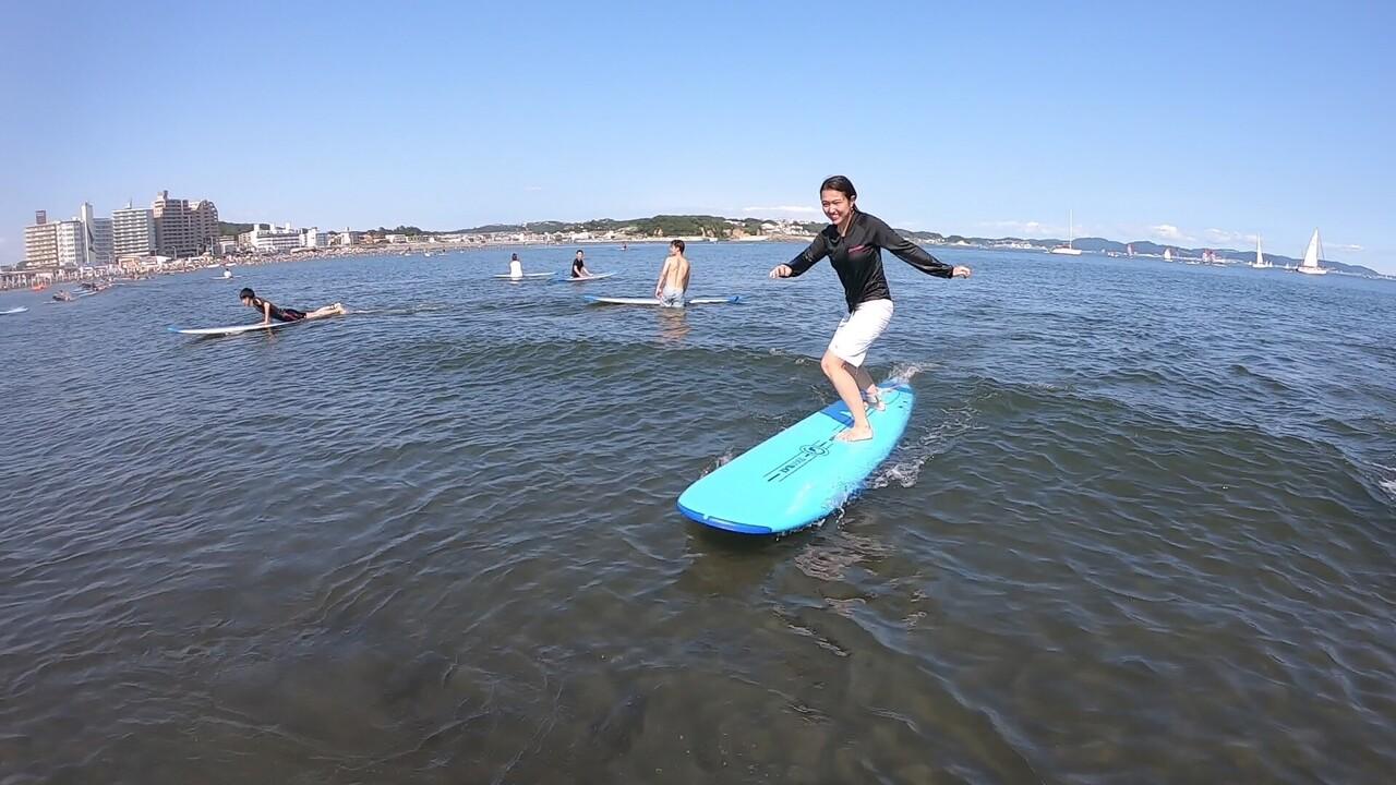 サーフィン体験プッシュクラス (平日限定ショートタイムVer.)※複数名もお一人様ずつご予約ください。