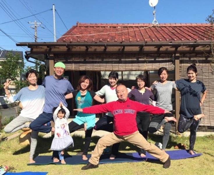 【定期イベント】日曜日のカフェヨガ@Aosora CAFE(1月10日の回は中止になりました)