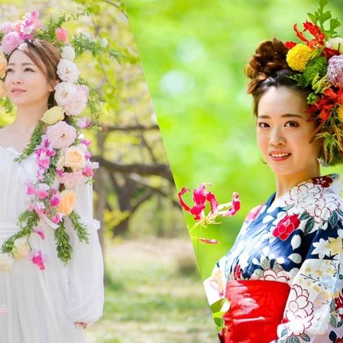 【初開催!】6月30日 花衣認定モデル撮影会 ※グループ撮影