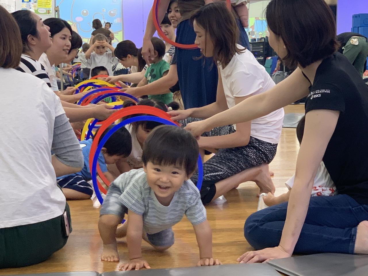 ブレインキッズ体操教室【親子遊びクラス 1~3歳】お試し体験レッスン