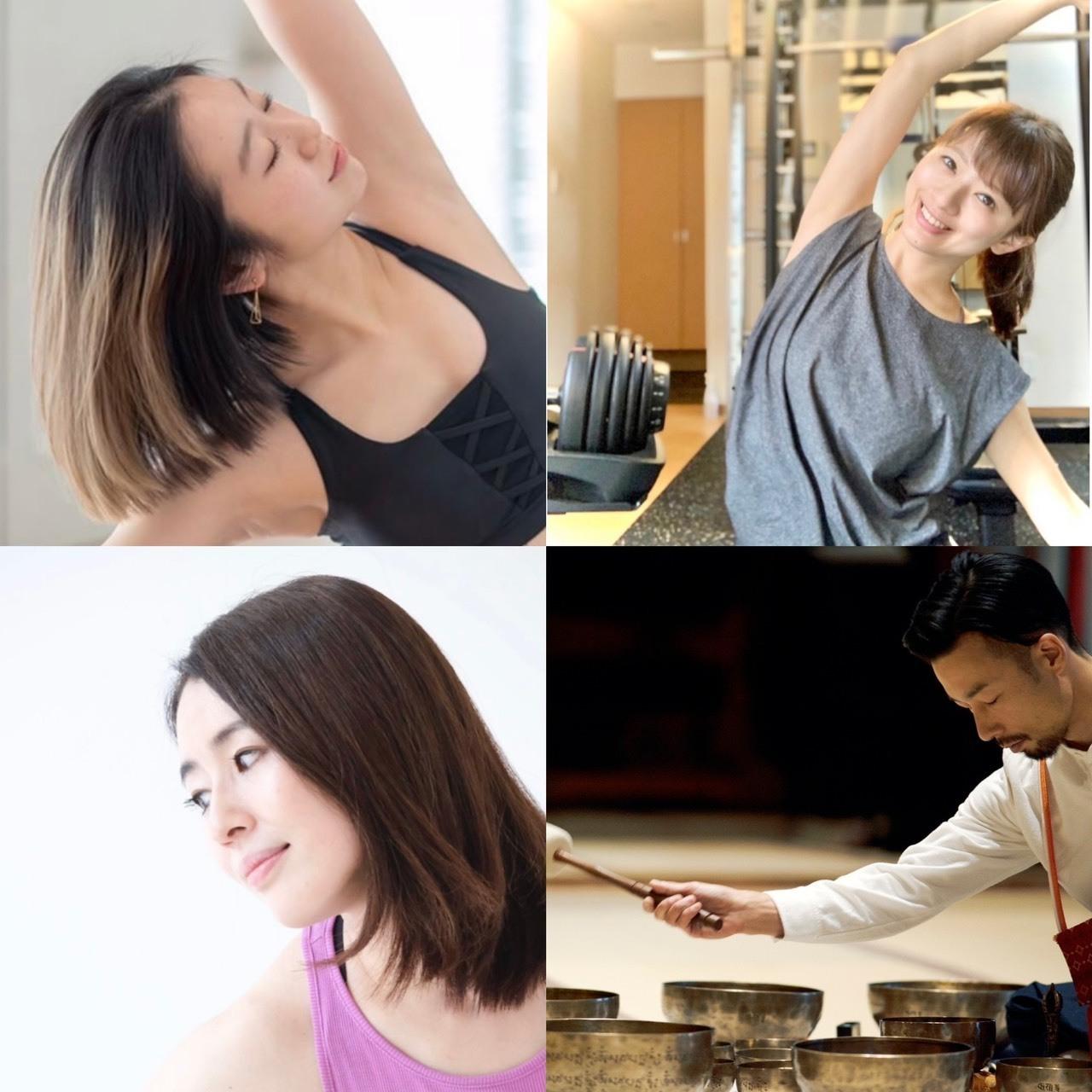 〜Autumn Special Yoga〜 インナーリトリート×シンキングボウルの響き