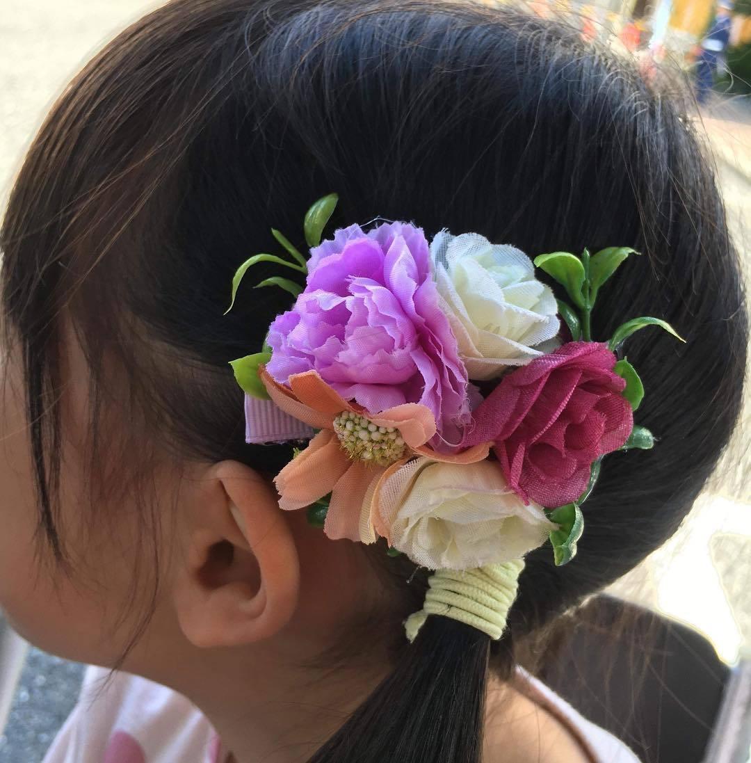 【世田谷】花柄の髪飾り作りワークショップ 2019年11月4日(月休)