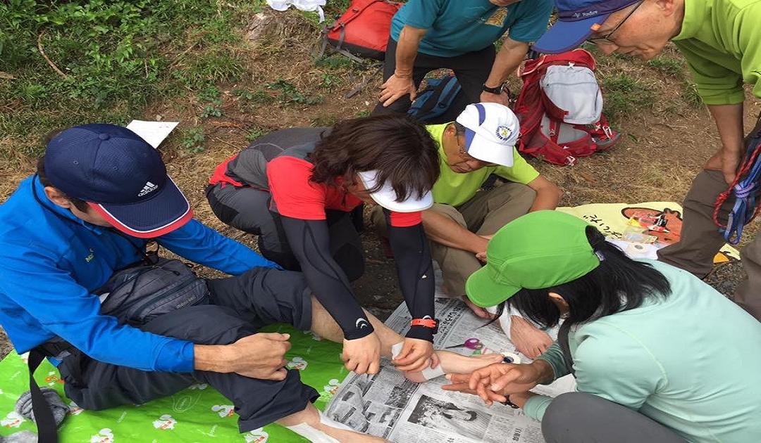 【11/7(木)】  山ナースの安全登山講習会 ~山岳医療活動の事例から学ぶ~