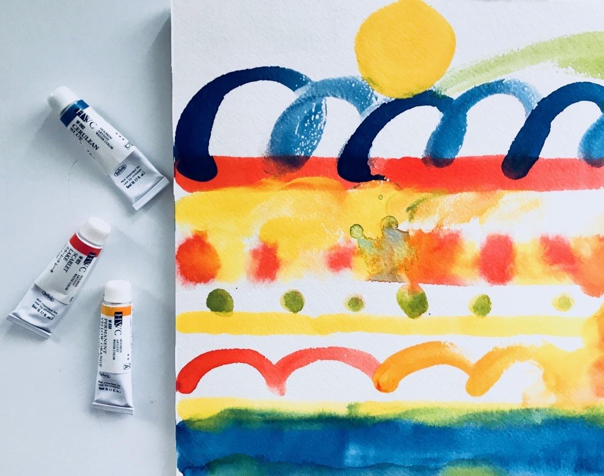 平澤まりこ・アマミヤアンナ「呼吸をととのえ わたしを描く」
