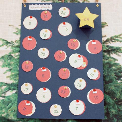 【パピエ*mini*】アドベントカレンダーを作ろう 11月4日(月・祝)・27日(水) *お子様可