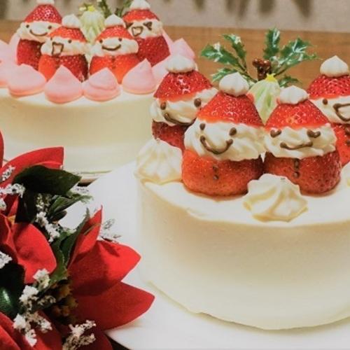 パティシエと作るいちごサンタのショートケーキ!(12/21土・24火・3480円・☆・🚼)