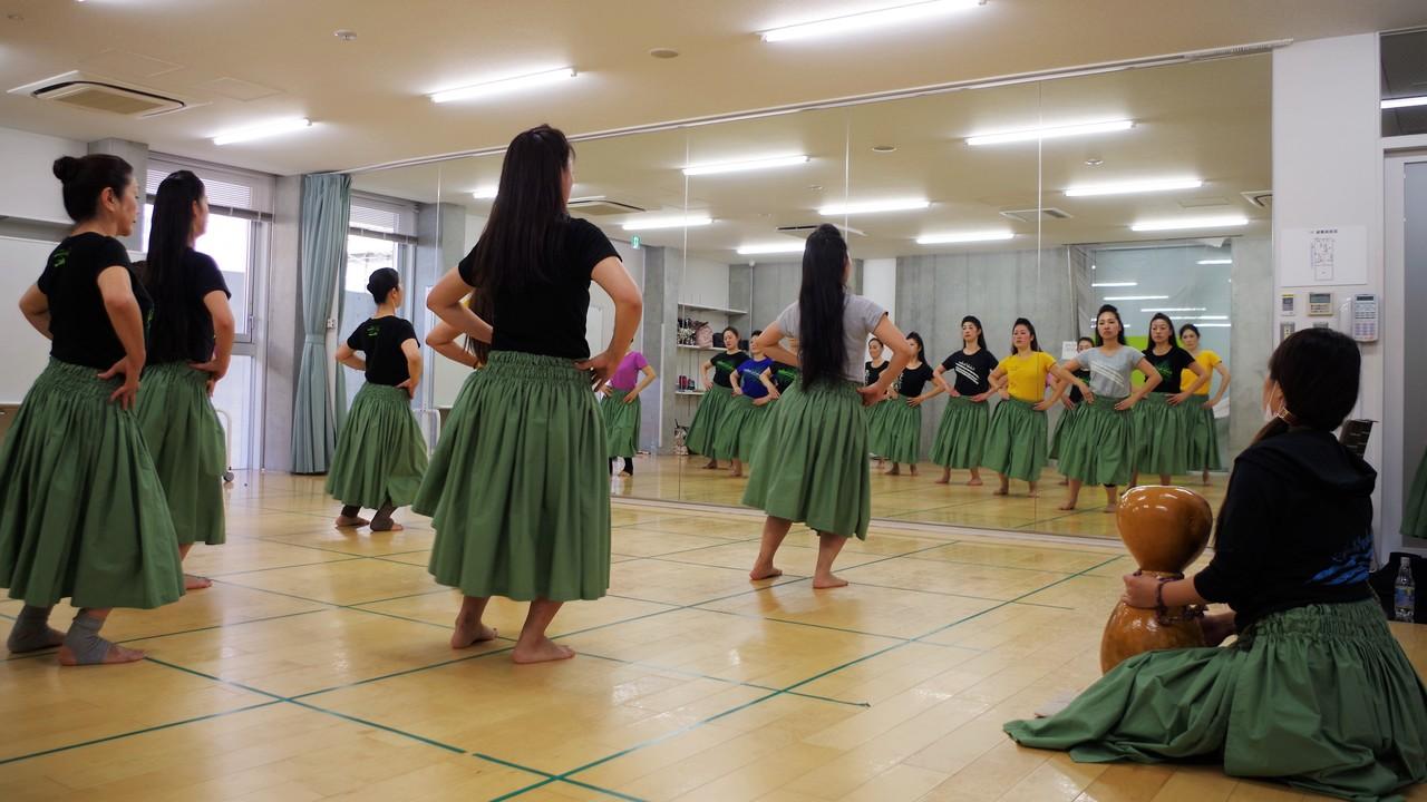 カレイヒイマクア立川教室(フラ入門レッスン)